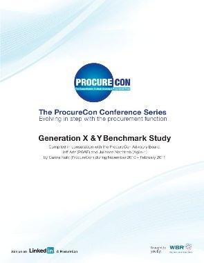 Generation X & Y Benchmark Study