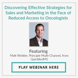 Discovering Effective Strategies for Sales and Marketing in the Face of Reduced Access to Oncologists