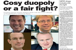 Cosy duoplay or a fair fight?