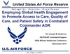 Employing Global Health Engagement to Promote Access to Care, Quality of Care, and Patient Safety in Combatant Commander AOR