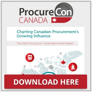 The ProcureCon Canada 2016 Benchmark Report