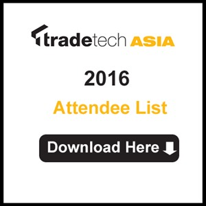 TradeTech Asia Attendee Information for 2016