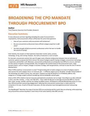 Broadening the CPO Mandate - Whitepaper