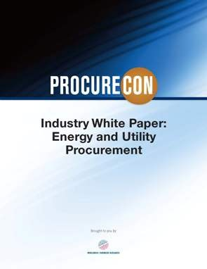 Energy and Utility Procurement Whitepaper