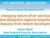 The Changing Nature of Air Services to New Zealand's Regional Airports