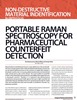 Portable Raman Spectroscopy for Pharmaceutical Counterfeit Detection