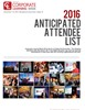 Anticipated Attendee List