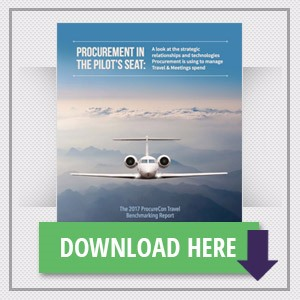 Procurement in the Pilot's Seat: The 2017 ProcureCon Travel Benchmarking Report