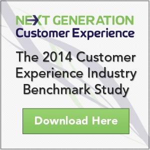 2014 Customer Experience Benchmark Study