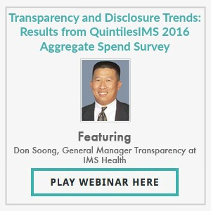 Results from the 2016 Aggregate Spend, Disclosure and Transparency Survey