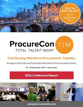 ProcureCon HR 2016 - Conference Report