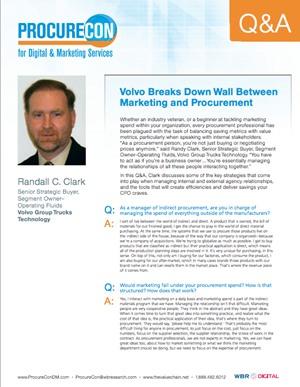 Volvo on Marketing and Procurement