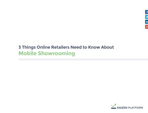 3 Things Online Retailers Need To Know About Online Showrooming