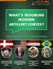 What's troubling modern artillery forces?...Four nations speak out