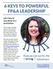 Six Keys to Powerful FP&A Leadership