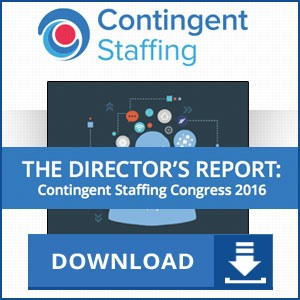 Contingent Staffing 2016: The Director's Report