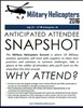 Military Helicopters USA 2016 - Anticipated Attendee Snapshot