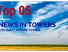 Top 5 News in Towers
