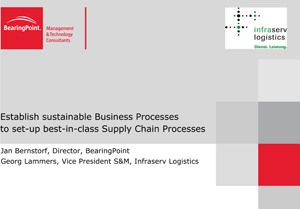 Supply Chain Management Consulting