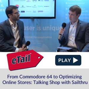 From Commodore 64 to Optimizing Online Stores: Talking Shop with Sailthru