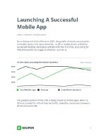 Launching A Successful Mobile App