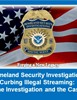 Homeland Security Investigations Curbing Illegal Streaming: The Investigation and the Case