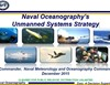 Naval Oceanography's Unmanned Systems Strategy