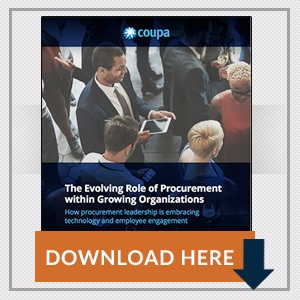 The Evolving Role of Procurement within Growing Organizations
