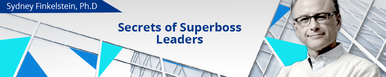 Secrets of Superboss Leaders