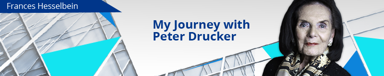 My Journey with Peter Drucker