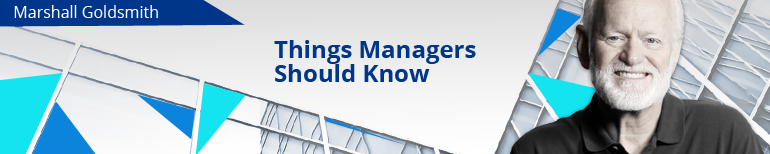 Things Managers Should Know