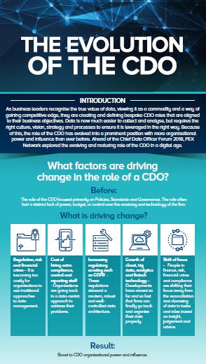 The evolving role of a CDO