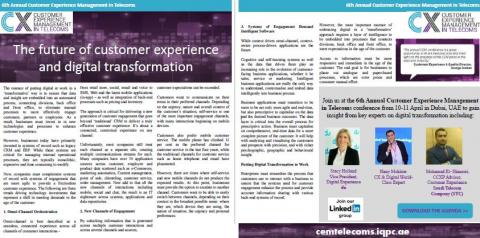 CEM - The future of customer experience and digital transformation