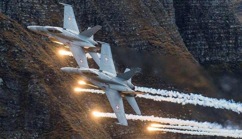 swiss-hornets-fighter-aircraft