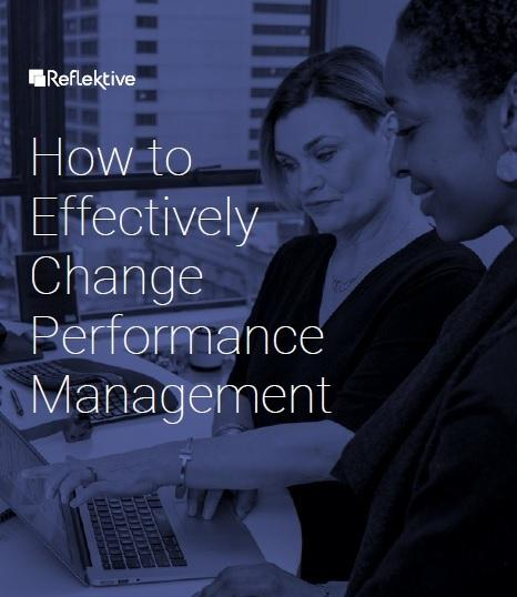 How to Effectively Change Performance Management Cover