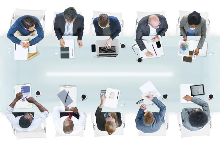 employees round table