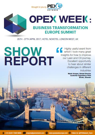 OPEX Week Europe Show Report