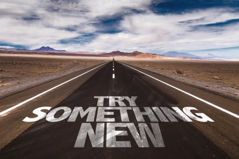try new
