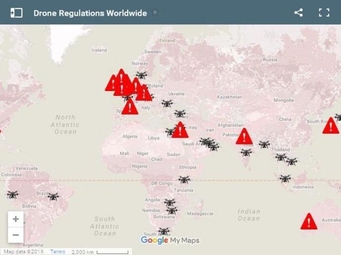 uav-regulations-worldwide