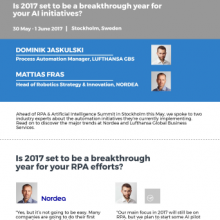 RPA Nordics journey