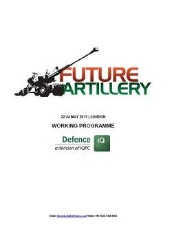 Download the 2017 Future Artillery Draft Agenda landing