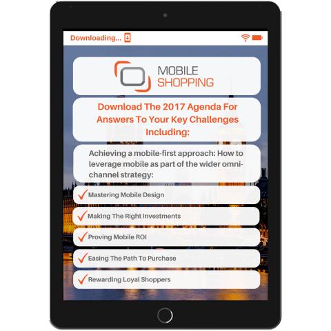 Mobile Shopping Agenda Tablet