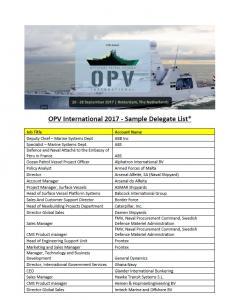 OPV cover sample del list
