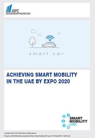 Smart Mobility - Achieving Smart Mobility in the UAE by EXPO 2020
