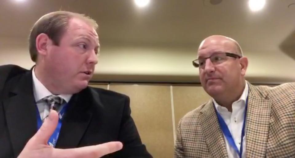 Mason Stevenson and Larry Brand Talking