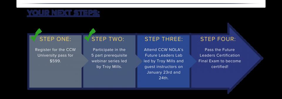 CCWU Webinars Steps