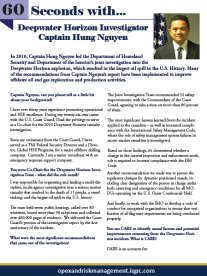 Captain Hung Nguyen Interview