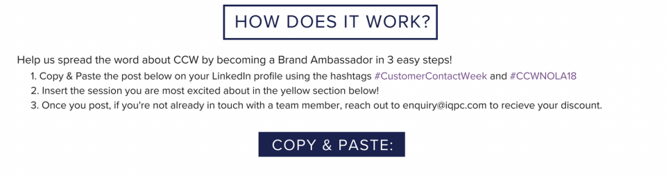 How does it work brand ambassador