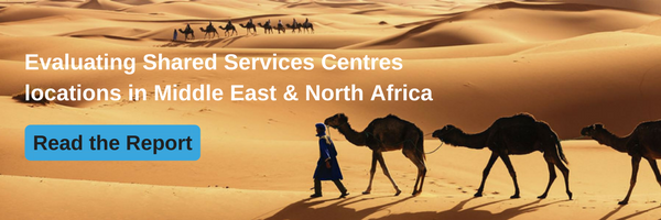 Shared Services locations in Middle East and North Africa